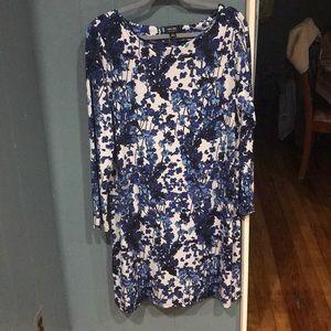 Nicole Miller Long Sleeve Dress